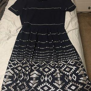 EUC 3XL LuLaRoe Amelia dress (has pockets!)